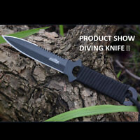 CIMA A18 3Cr13 Stainless Steel Outdoor Survival Tactical Diving Straight Knife