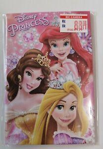 Disney Princess Notecards Envelopes kids Genuine Disney from Japan BicCamera