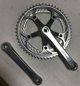 VINTAGE SHIMANO DURA ACE FC-7400 170 53/42 Teeth CRANK SET