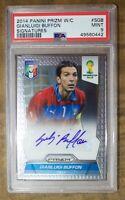 Panini 2014 Buffon Autograph PSA 9 Soccer Card