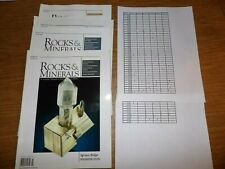 Rocks and Minerals magazine your choice of issue see details complete your set