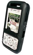 Crystal Cover Case Handy Hülle Schutzhülle  in Schwarz für Sony Ericsson F305
