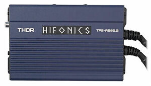 Hifonics TPS-A500.2 500w 2-Channel Marine Amplifier For Polaris RZR/ATV/UTV/Cart