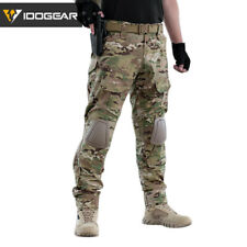 IDOGEAR Gen2 Camo Pants w/ Knee Pads Army Pants Military Trousers Hunting Combat