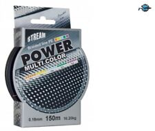 Bobine 150m tresse qualité Power Multi Color STREAM pêche higher braided line