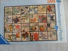 Ravensburger 500 piece jigsaw puzzle.  Vintage Flora