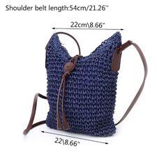 Women Handbag Shoulder Bag Straw Weave Tote Purse Lady Beach Hobo Bag Crossbody
