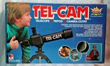 Vintage SUPER SCIENCE TEL-CAM Telescope - Tripod - Camera Outfit
