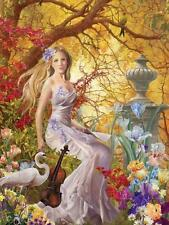 Jigsaw Puzzle Fantasy Portrait Lost Melody 750 piece NEW Made in USA