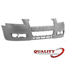 Front Bumper Primed Audi A3 3/5Dr 2004-2008 Not S Line Brand New High Quality