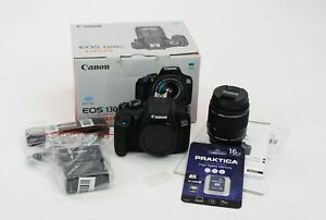 Canon EOS 1300D Digital Camera Kit 18.0MP DSLR With 18-55mm Lens Black In Box