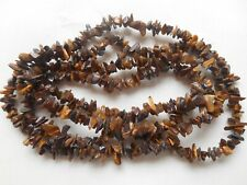 "34"" String high quality tiger eye chips 5mm to 8mm"