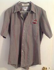 EXCELLENT COCA COLA LOGO~MENS WORK SHIRT, MEDIUM