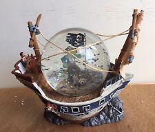 Department 56 Haunted Ship Waterglobe Halloween Rare Globe Pirate Bats Dept