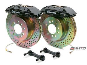Brembo Front GT Brake BBK 4pot Black 326x30 Drill Disc for FRS FR-S BRZ 86 12-17