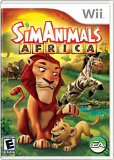 Sim Animal Africa WII New Nintendo Wii