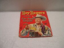 Vintage Antique 1952 Tell-A-Tales ROY ROGERS AND THE SURE 'NOUGH COWPOKE Book