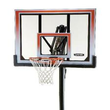 In-Ground Outdoor Basketball Hoop Backboard System Portable Goal Adjustable