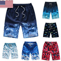 US Men's Boardshorts Surf Beach Shorts Swim Wear Sports Trunk Pants Plus Size DS