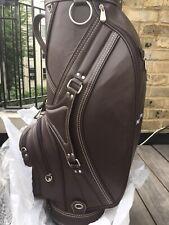 Original Patek Philippe Golf Club Brown Leather Bag