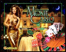 Monte Carlo Pinball Alternate Translite