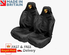 PORSCHE CAR SEAT COVERS PROTECTORS SPORTS BUCKET HEAVYDUTY WATERPROOF - CAYMAN