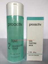 Proactiv Revitalizing Toner 4 oz Proactive Tone plus FREE Proactiv Mask 1 oz NEW