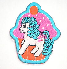 CUPCAKE MY LITTLE PONY MLP APPLIQUE Embroidered Sew Iron On Cloth Patch Badge