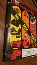 Auto Racing Parts Catalog for Oval Track 1984 Performance Parts