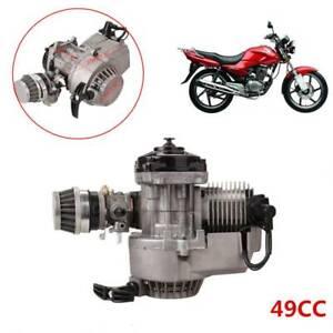 49CC 2 Hub Motor Dirt Bike Cross Pocketbike Kinderquad Getriebe Vergaser