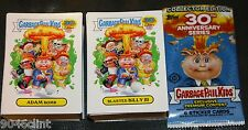 2015 GARBAGE PAIL KIDS 30TH ANNIVERSARY COMPLETE SET 220 CARDS + WRAPPER 1ST GPK