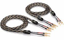 3, 00 M VIABLUE SC-2 Single Wire avec TS Fiche 3 mètres (1 paire)