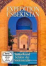 DVD Samarkanda Schätze Ruta de la seda de Expediation Uzbekistán
