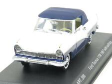 Detail Cars ART 386 Ford Taunus 17M 157 Soft Top White Blue 1 43 Scale Boxed
