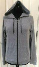 Under Armour Heat Gear Women's Full Zip Hooded Jacket, Heathered Grey, Sz.L