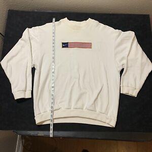 NikeLab Nike Vintage Olympic USA Swoosh Stripe Crewneck Size L White Tag