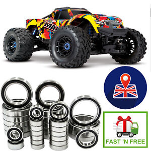 TRAXXAS MAXX 26 Piece Set High Quality ABEC 3 RUBBER SEALED BEARINGS Kit RC Car