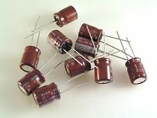 Elna RE2J Radial Electrolytic Capacitor 63v 100uf 105'C 10x12.5 10 pieces OL0521