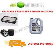 PETROL OIL AIR FILTER KIT + SS 10W40 OIL FOR SUZUKI ALTO 1.1 63 BHP 2002-08