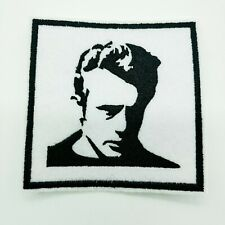 "JAMES DEAN  Embroidered Iron On Patch 3 "" X 3 "" CULTURAL ICON"