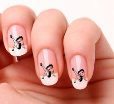 20 Décalcomanies Nail Art #341 - Betty Boop