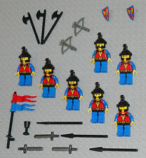 LEGO Minifigures Lot 7 Castle Dragon Knights Toys Swords Weapons Lego Minifigs
