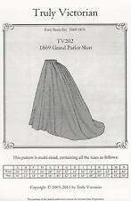 Schnittmuster Truly Victorian TV 202: 1869 Grand Parlor Skirt