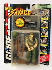 G.I. JOE SGT. Savage and his Screaming Eagles WITH Video, Commando SGT Savage