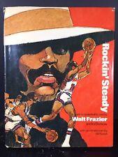 Rockin' Steady Guide To Basketball Walt Frazier Signed Hardcover 1st Ed Illustra