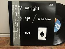 O.V. Wright A NICKLE AND A NAIL Japan P-Vine LP w/OBI