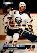 1992-93 Pro Set Buffalo Sabres Hockey Card #223 Keith Carney Rookie