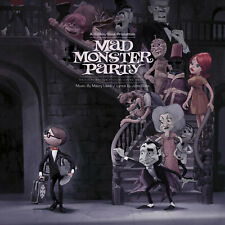 Mad Monster Party OST Waxwork 2 Color Variants Black&Green Yellow&Pink Vinyl