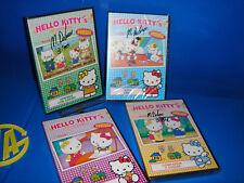 Lote de 4 dvds-Infantiles-buen estado HELLO KITTY,s nuevos precintados