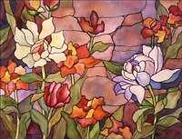 Ceramic Accent & Decor Tile McEachron Flowers Floral Art RW-AM011AT
